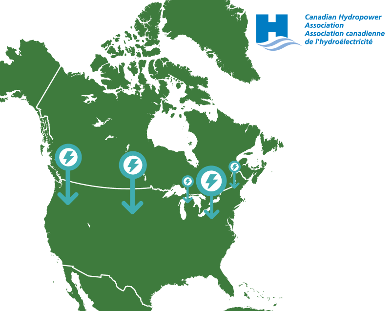 Hydropower is a shared and integrated North American resource.