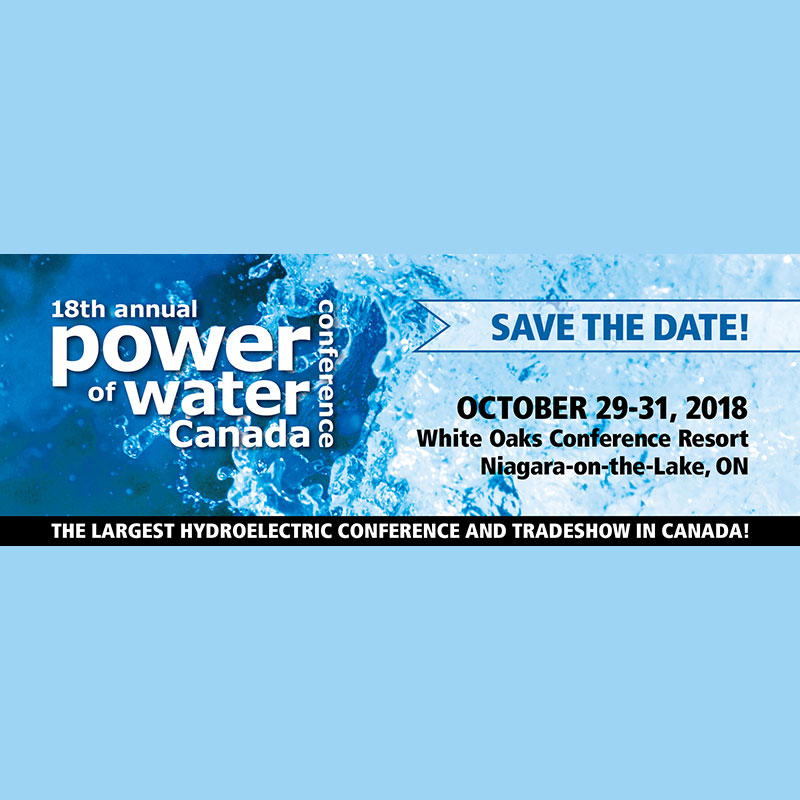 Ontario Waterpower Association - Power of Water Conference